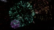 Fireworks In Space video