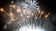 fireworks of new years Festival of Thailand in Bangkok video