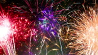 Fireworks Show - Sharp Vibrant Clean 4K UHD LOOP video