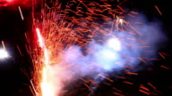 Fireworks: Two video clips video