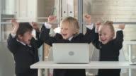 First Business Achievement video