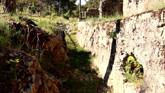 First World War trenches walk video