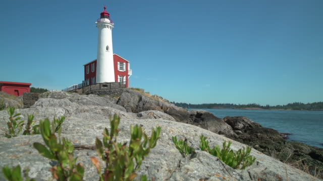 Fisgard Lighthouse, British Columbia 4K UHD video