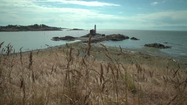 Fisgard Lighthouse, Victoria 4K UHD video