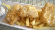 Fish and chips video