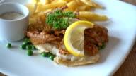 Fish steak video