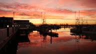 Fishermans Wharf Sunrise, Steveston video