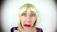Fisheye Clueless Blonde Character video