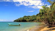 fishing boat in paradise video