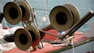 Fishing boat. video