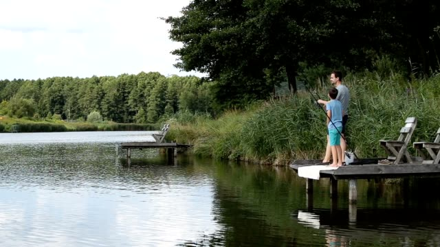 Fishing by the lake is our common passion video
