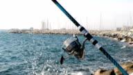 Fishing reel video