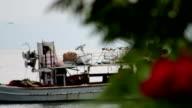 Fishing ship video