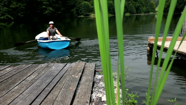 HD STOCK: Fishing video