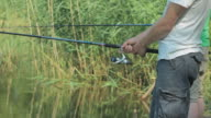 Fishing with two guys video