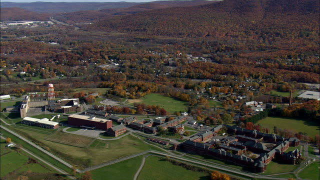 Fishkill Correctional Facility - Aerial View - New York,  Dutchess County,  United States video