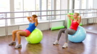 Fitball Workout video