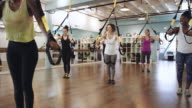Fitness class for women video