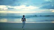 Fitness Training Of Runner video