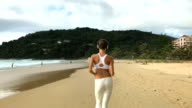 Fitness, Workout And Healthy Lifestyle Concept video