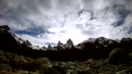 fitz roy timelapse argentina video