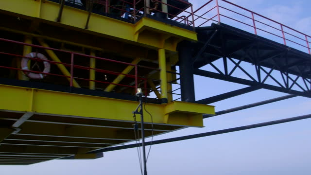 Fixed gas production offshore platform video