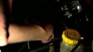 Fixing a Car (HD, w/Sound) video