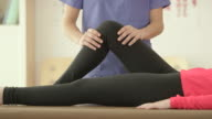 Fixing a Knee Injury video