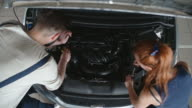 Fixing Vehicle at Car Service video