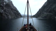 HD TIME-LAPSE: Fjord Cruise video