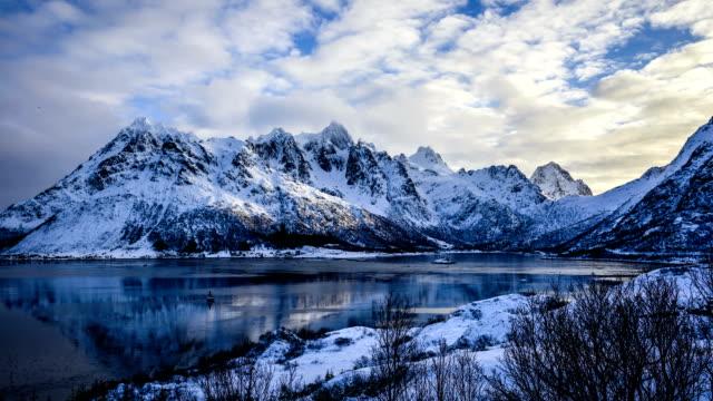 Fjord in Norway - Timelapse video