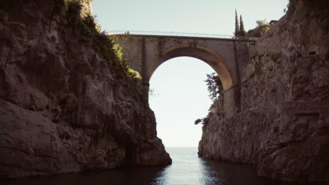 Fjord of Furore on Amalfi coast video