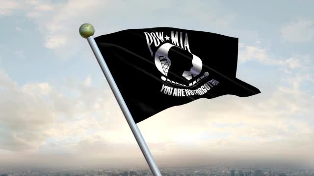 POW/MIA Flag Animation video