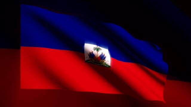 HAITI Flag - HD LOOP video