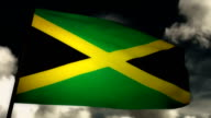 Flag Jamaica video
