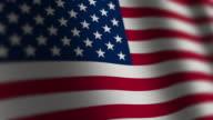 USA Flag - Loop. 4k video