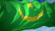 Flag Mauritania video