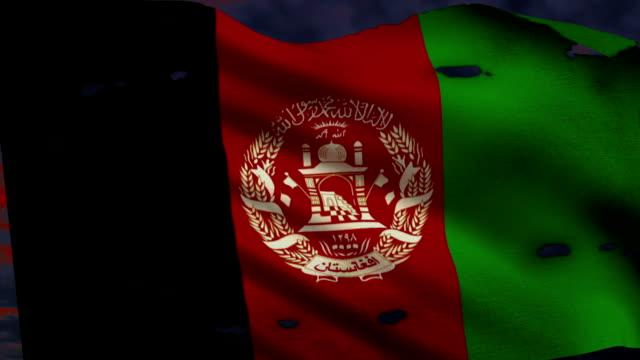 Flag of Afghanistan, war video