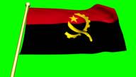 Flag of  Angola animation video