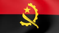 Flag of Angola  winding video