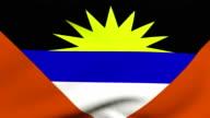 Flag of Antigua and Barbuda video