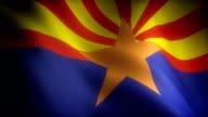 Flag of Arizona video