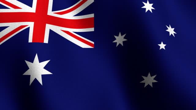 Flag of Australia video