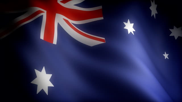 Flag of Australian (seamless) video