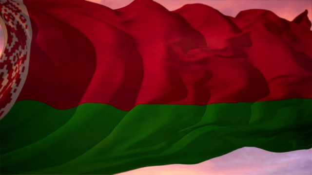 Flag of Belarus video