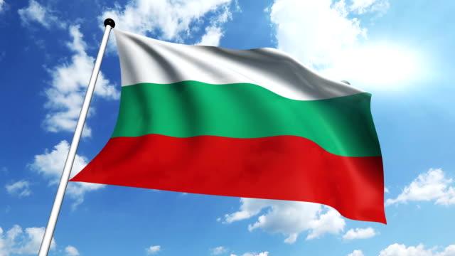 flag of Bulgaria video