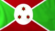Flag of Burundi video
