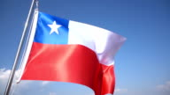 Flag of Chile video
