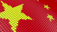 Flag of China video