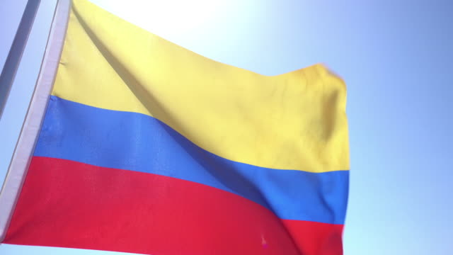 Flag of Colombia video
